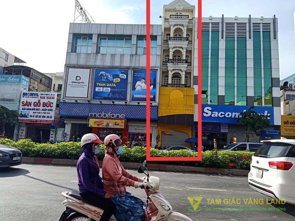 Cho thuê nhà mặt tiền đường Cộng Hòa, Phường 13, Quận Tân Bình, DT 4x12m, 1 trệt 4 lầu, Giá 40 triệu/tháng