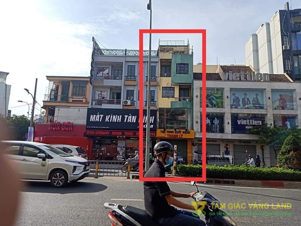 Cho thuê nhà mặt tiền đường Cộng Hòa, Phường 13, Quận Tân Bình, DT 4x7m, 1 trệt 3  lầu, Giá 22 triệu/tháng