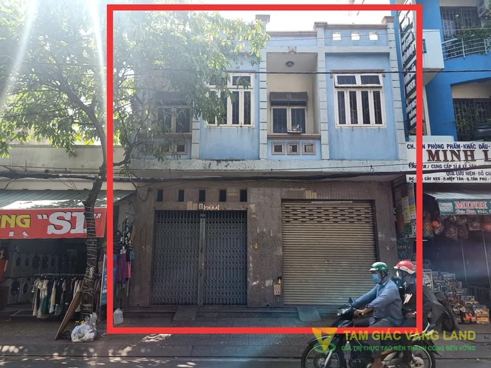 Cho thuê nhà mặt tiền đường Cây Keo, Phường Hiệp Tân, Quận Tân Phú, DT 8x18m, 1 trệt 1 lầu, Giá 35 triệu/tháng
