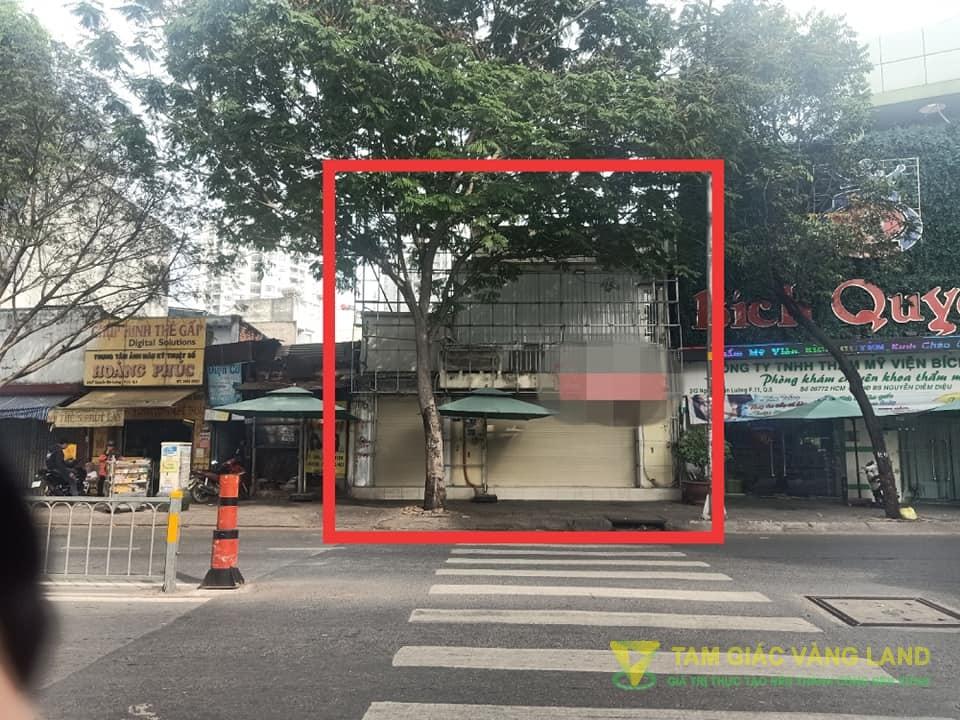 Cho thuê nhà mặt tiền đường Nguyễn Văn Luông, Phường 11, Quận 6, DT 7x7m, 1 trệt 2 lầu, Giá 24 triệu/tháng
