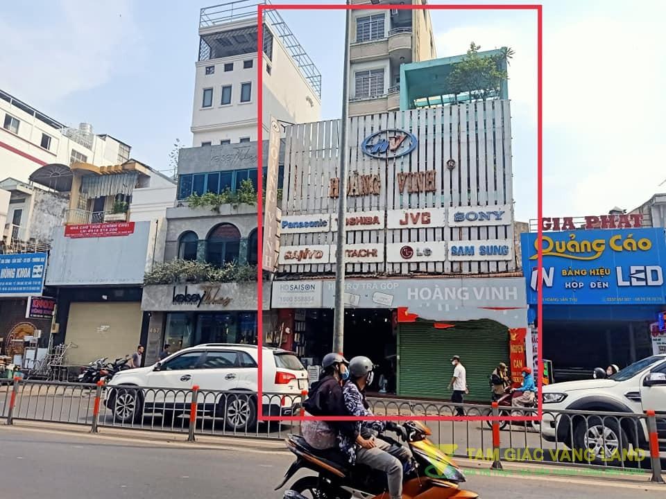 Cho thuê nhà mặt tiền đường Hoàng Văn Thụ, Phường 4, Quận Tân Bình, DT 9x50m, 1 trệt 3  lầu, Giá 200 triệu/tháng