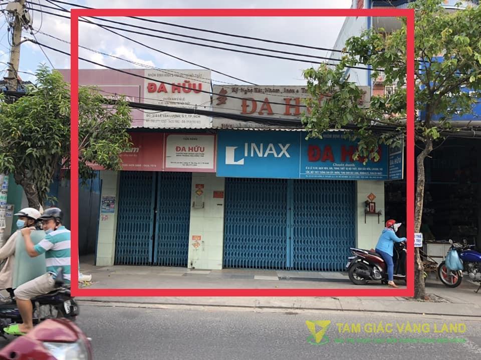 Cho thuê nhà mặt tiền đường Lê Văn Lương, Phường Tân Quy, Quận 7, DT 7.5x20m, mặt bằng, Giá 65 triệu/tháng