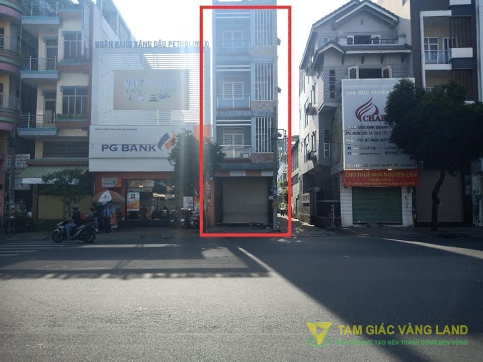 Cho thuê nhà mặt tiền đường Lạc Long Quân, Phường 5, Quận 11, DT 4x15m, Mặt bằng LDR, Giá 18 triệu/tháng