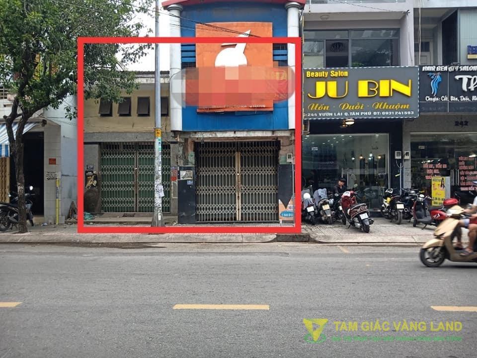 Cho thuê nhà mặt tiền đường Vườn Lài, Phường Phú Thọ Hòa, Quận Tân Phú, DT 8x18m, Nhà cấp 4, Giá 30 triệu/tháng