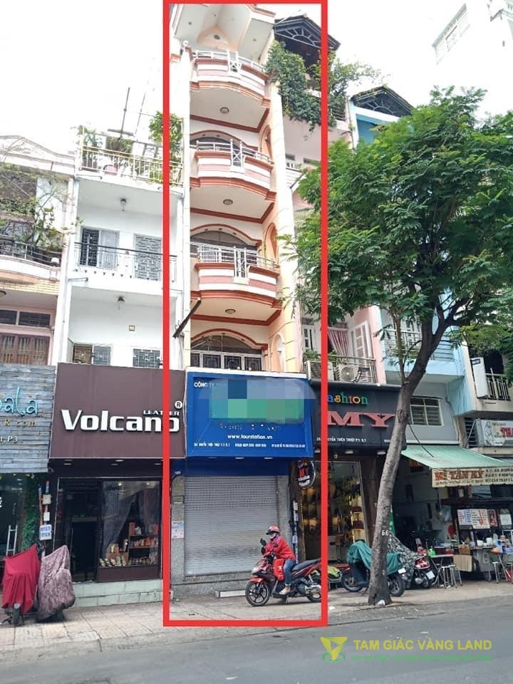 Cho thuê nhà mặt tiền đường Nguyễn Thiện Thuật, Phường 3, Quận 3, DT 3.3x14m, 1 trệt 4 lầu, Giá 40 triệu/tháng