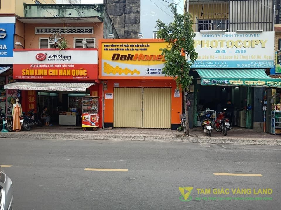 Cho thuê nhà mặt tiền đường Nguyễn Thông, Phường 9, Quận 3, DT 4.5x10m, Nhà cấp 4, Giá 30 triệu/tháng