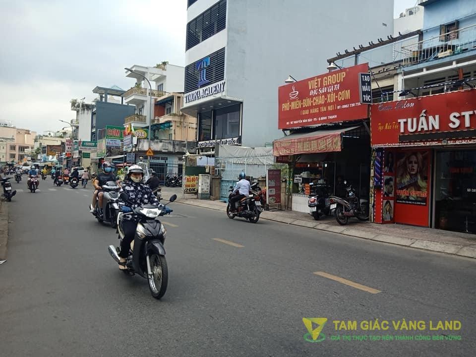 Cho thuê nhà mặt tiền đường Nguyễn Văn Đậu, Phường 5, Quận Bình Thạnh, DT 4.4x23m, 1 trệt 3 lầu, Giá 38 triệu/tháng