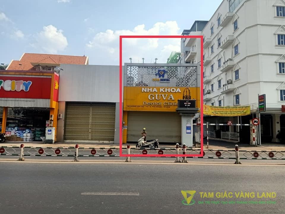 Cho thuê nhà mặt tiền đường Hoàng Văn Thụ, Phường 8, Quận Phú Nhuận, DT 6x16.5m, mặt bằng, Giá 65 triệu/tháng