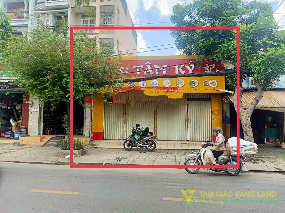 Cho thuê nhà mặt tiền đường Nguyễn Văn Quá, Phường Đông Hưng Thuận, Quận 12, DT 8x22m, mặt bằng, Giá 45 triệu/tháng