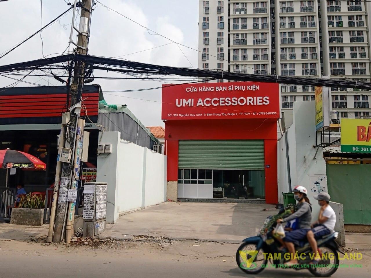 Cho thuê nhà mặt tiền đường Nguyễn Duy Trinh, Phường Bình Trưng Tây, Quận 2, DT 6x30m, mặt bằng, Giá 45 triệu/tháng