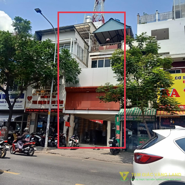 Cho thuê nhà mặt tiền đường Thành Thái, Phường 14, Quận 10, DT 4.5x12m, 1 trệt 2 lầu, Giá 40 triệu/tháng