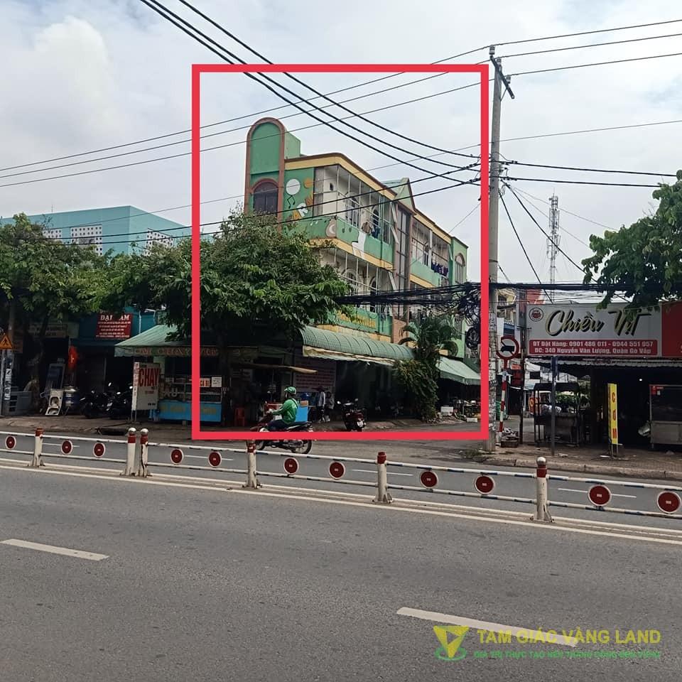 Cho thuê nhà mặt tiền đường Nguyễn Văn Lượng, Phường 16, Quận Gò Vấp, DT 4x25m, 1 trệt 2 lầu, Giá 60 triệu/tháng