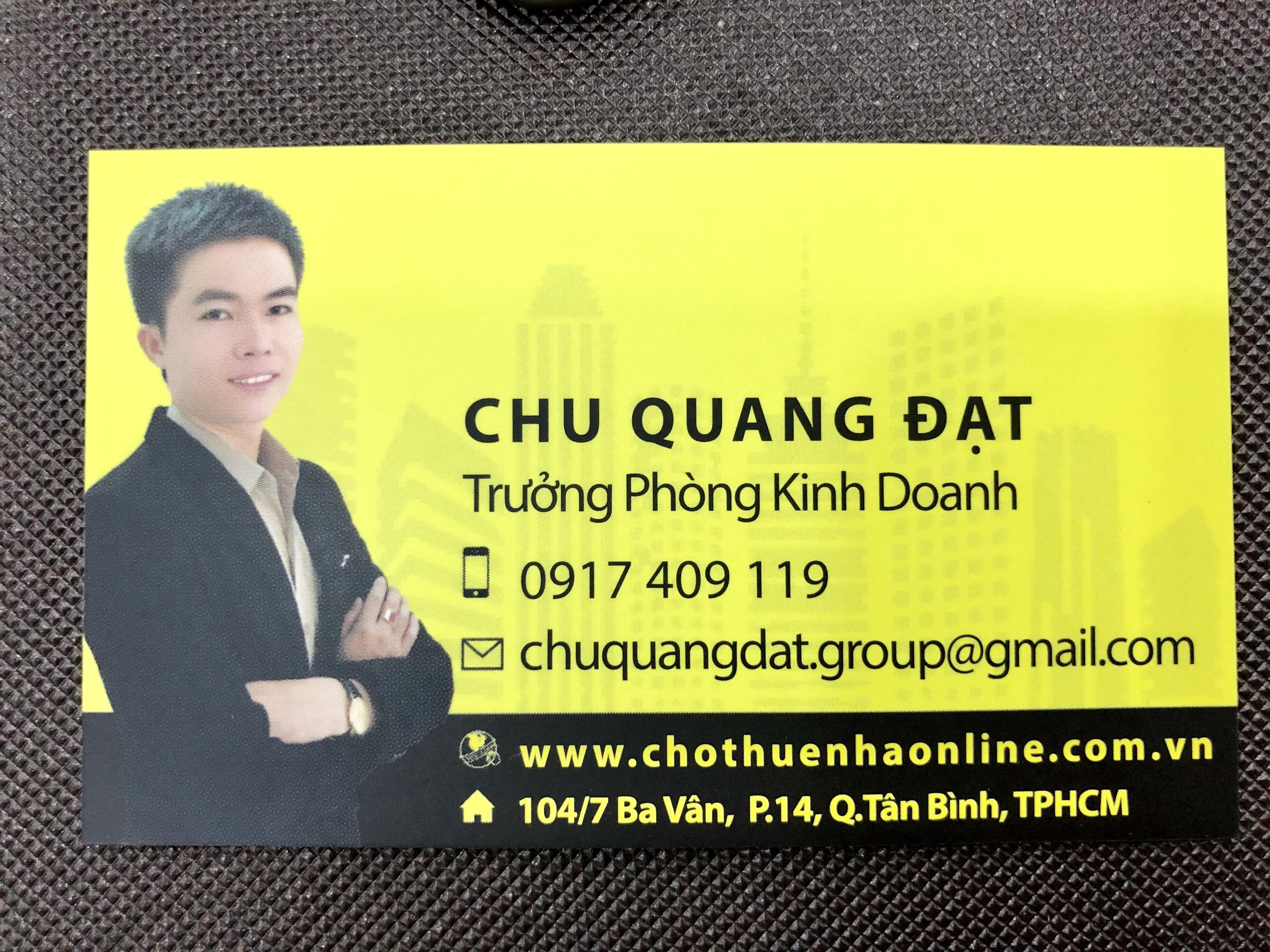 Chu Quang Đạt